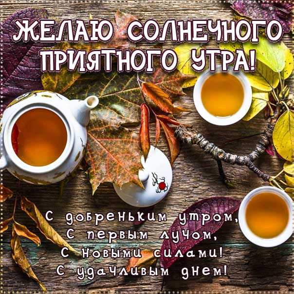 доброе утро осень чай, картинки с добрым осенним утром, картинки с пожеланием осенним утром, осень доброе утро, с добрым утром осень картинки стихи, осеннее утро доброе