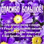 Картинка большое спасибо цветы