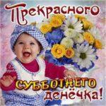 Прекрасной субботы открытка цветы